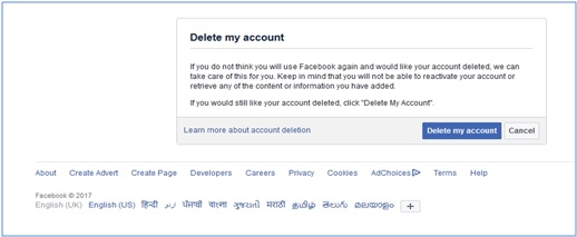 Delete Facebook Account Permanently Steps By Steps 1