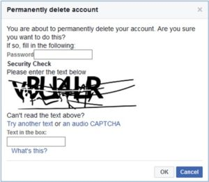 Delete Your Facebook Account Permanent