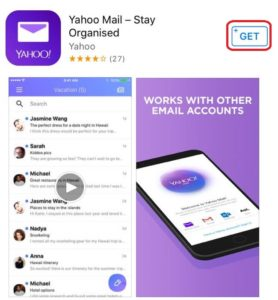 Download Yahoo mail on IOS for using Yahoo account key