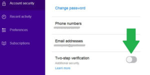 How to Enable or Disable Yahoo 2 Step Verification 1-888-335