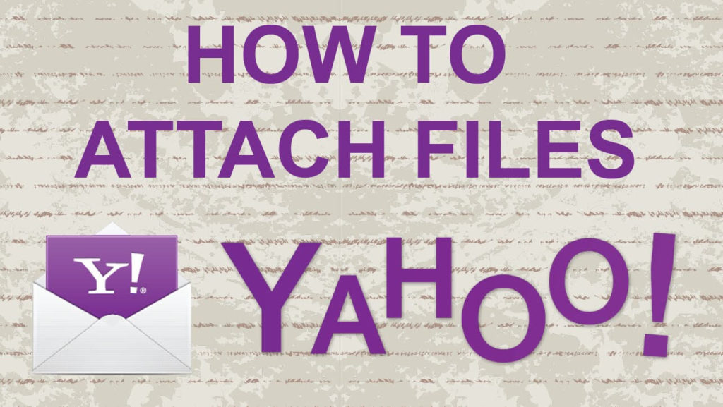 Attach File in Yahoo mail account