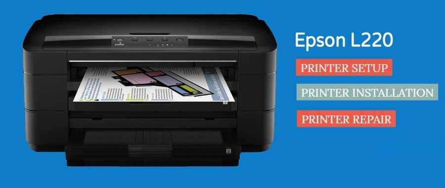 How to Setup Epson L220 Printer & Driver Installation 1-888