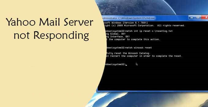 yahoo-mail-server-not-responding