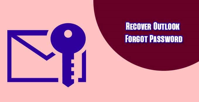 recover-outlook-forgot-password