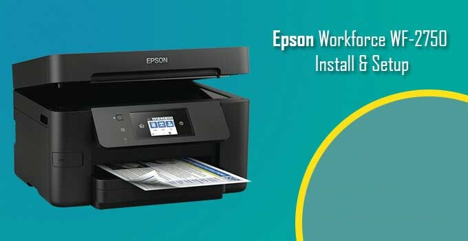 Epson printer workforce 2750